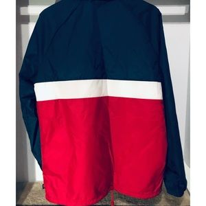 Vans Jackets & Coats - Red White and Blue Vans Torrey Bomber Jacket NWT✅